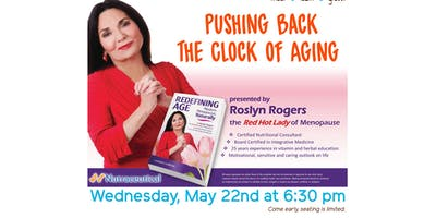 Free Health Seminar: Pushing Back the Clock of Aging