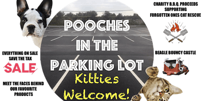 Pooches in the Parking Lot, Kitties Welcome