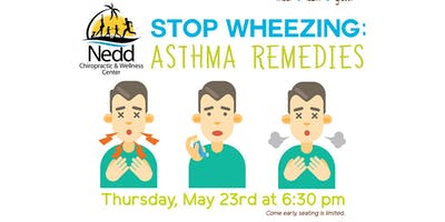 Free Health Seminar: Stop Wheezing: Asthma Remedies