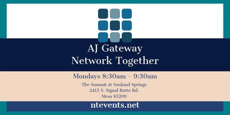 AJ Gateway Monday Business Connections tickets