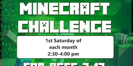 Minecraft Challenge tickets
