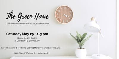 The Green Home: Aromatherapy for Natural Living