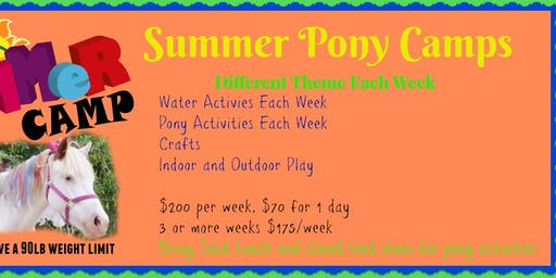 Summer Pony Camp