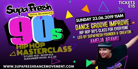 SupaFresh Dance Masterclass tickets