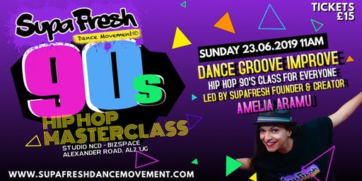 SupaFresh Dance Masterclass
