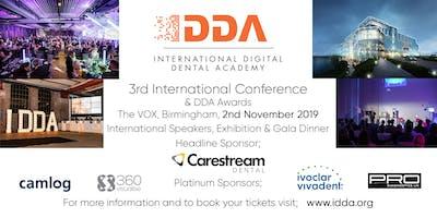 3rd International Digital Dental Academy Conference - BIRMINGHAM UK