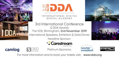 3rd International Digital Dental Academy Conference - BIRMINGHAM UK tickets