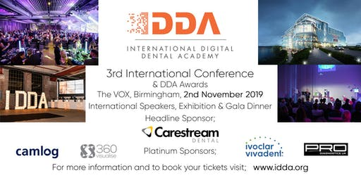 3rd International Digital Dental Academy Conference - BIRMINGHAM UK