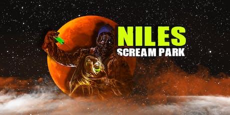 Niles Scream Park 2019 tickets
