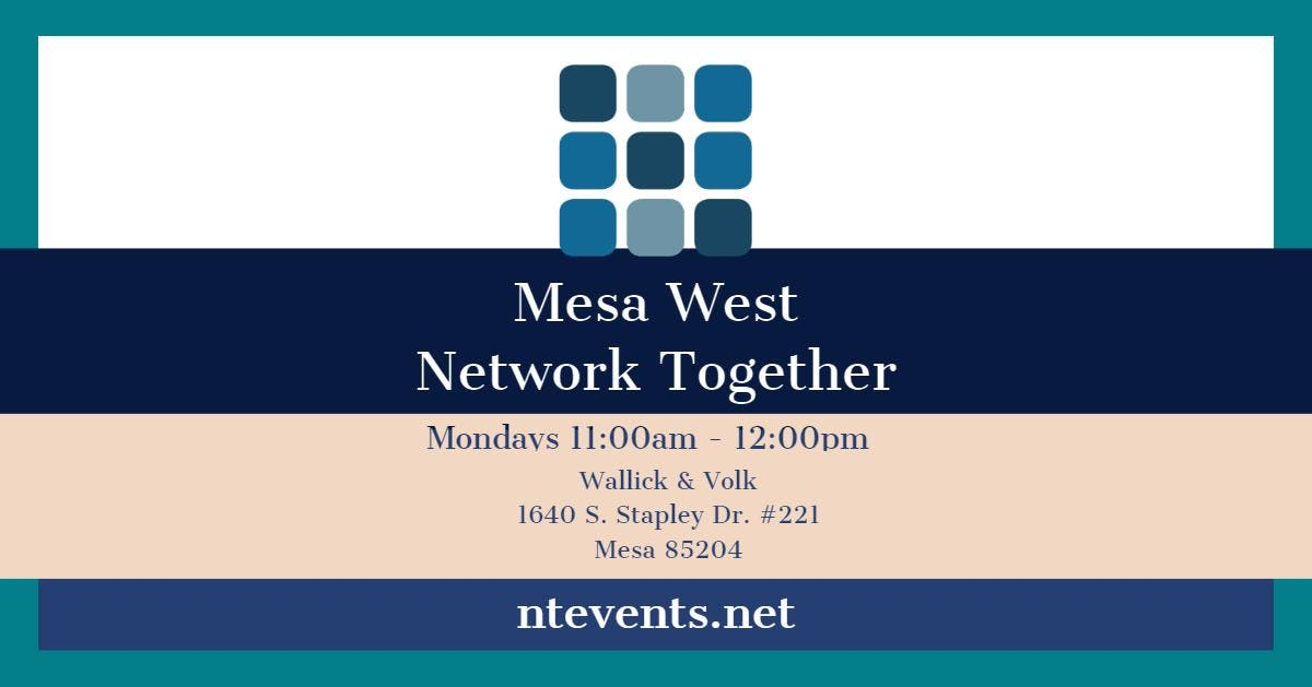 Mesa West Monday Business Connections