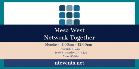 Mesa West Monday Business Connections tickets