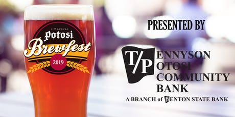 11th Annual Potosi Brewfest tickets