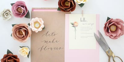 WORKSHOP: Paper Flowers with Handmade by Sara Kim