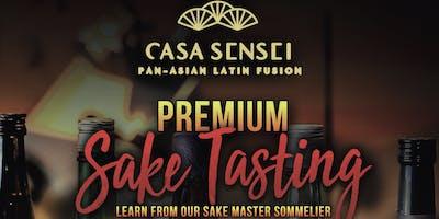 Premium Sake Tasting at Casa Sensei