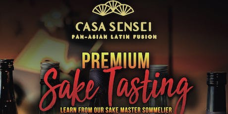 Premium Sake Tasting at Casa Sensei tickets