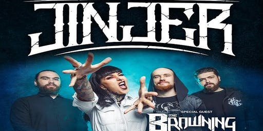 Jinjer w/ The Browning, Dark Agenda, Little White Lie