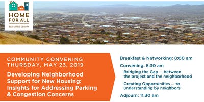 Community Convening: Developing Neighborhood Support for New Housing: Insights for Addressing Parking & Congestion Concerns