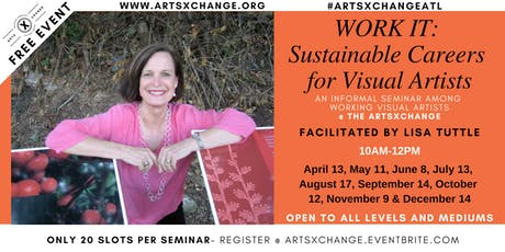 WORK IT: Sustainable Careers for Visual Artists tickets
