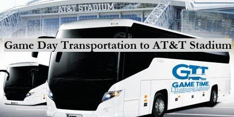 NFL Game Day Transportation  - Downtown Dallas to AT&T Stadium