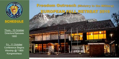 Freedom Outreach MTTM - Fall Retreat Conference 2019