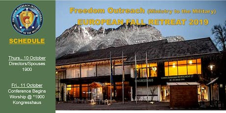 Freedom Outreach MTTM - Fall Retreat Conference 2019 Tickets