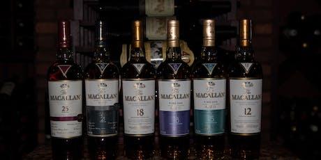 Macallan Scotch & Cigar Dinner tickets