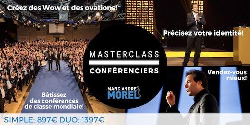 MasterClass CONFÉRENCIERS PARIS 24-25 AOÛT 2019