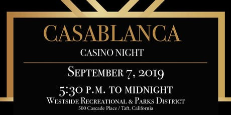 Casino Night 2019 Fundraiser for Transition to Independant Living (TIL) tickets