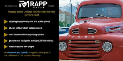 Use Your Truck in Professional Photoshoots