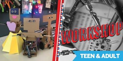 Robots 101 Workshop @ Maker Faire Bay Area 2019