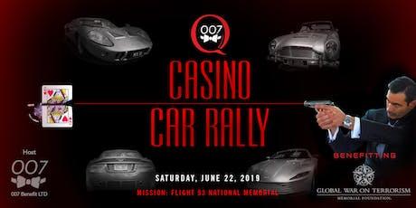 007 Car Rally & Casino Night: Tysons, VA to Flight 93 Memorial, Shanksville, PA tickets