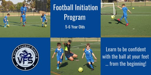 Football Initiation Program, 5-6 Year Olds