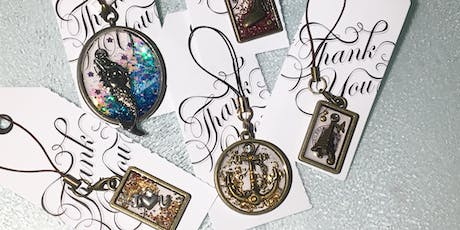 Create your own UV Resin Jewelry tickets