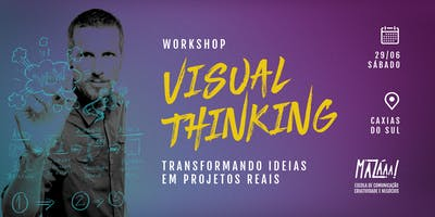 Workshop de Visual Thinking em Caxias do Sul