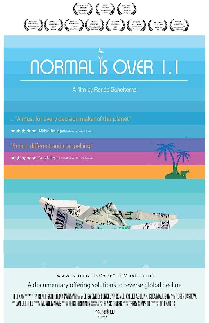 Normal Is Over with Filmmaker Renee Scheltema & Extinction Rebellion NYC image