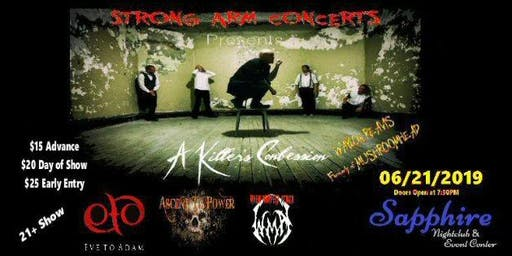 Strong Arm Concerts presents A KILLERS CONFESSION