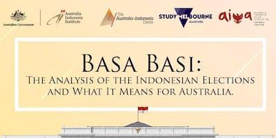 Basa Basi: The Analysis of Indonesia Election