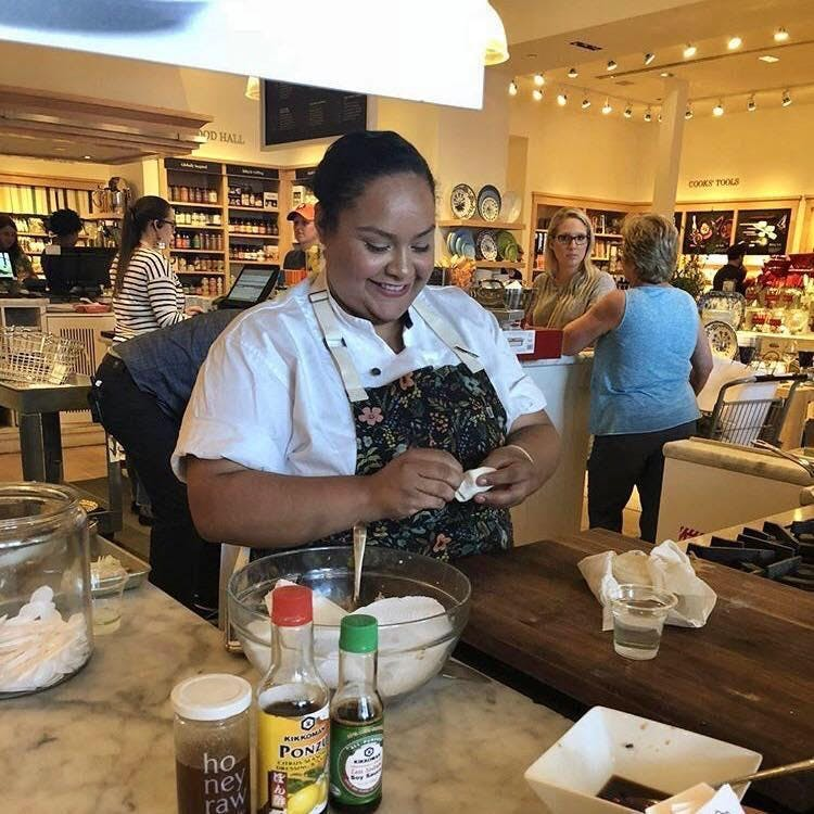 Kid's Dumpling Class with Chef Evelyn Garcia