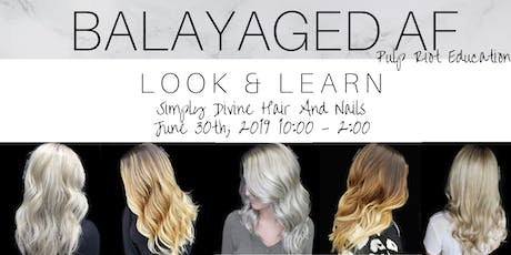 Balayaged AF: Manchester tickets