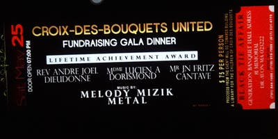 Croix-Des-Bouquets United: Fundraising Gala Dinner