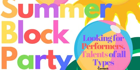 Summer Block Party tickets