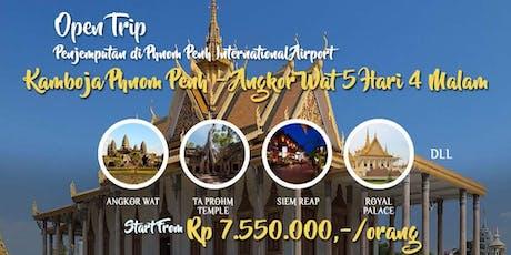 Open Trip Kamboja Phnom Penh – Angkor Wat 5 Hari 4 Malam tickets