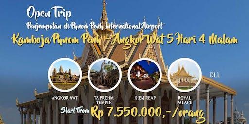 Open Trip Kamboja Phnom Penh – Angkor Wat 5 Hari 4 Malam