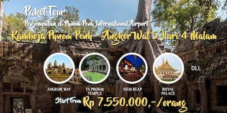 Paket Tour Kamboja Phnom Penh – Angkor Wat 5 Hari 4 Malam tickets
