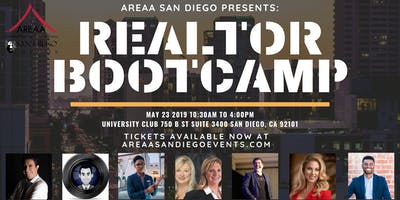 AREAA San Diego Realtor Bootcamp - Master Classes lead by SD's leading Industry Pros!