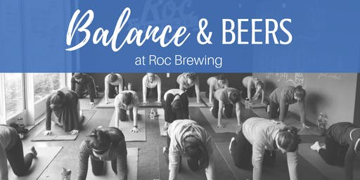 Balance & Beers at Roc Brewing