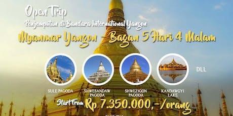 Open Trip Myanmar Yangon - Bagan 5 Hari 4 Malam tickets
