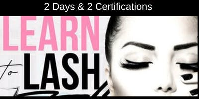 MAY 20-21 TWO-DAY CLASSIC & VOLUME LASH EXTENSION CERTIFICATION TRAINING