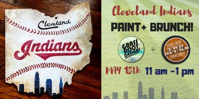 CLE Indians Ohio Paint + Brunch at Two Bucks! [Middleburg]