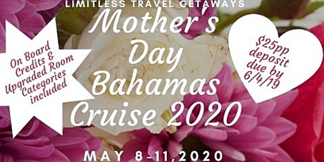 Mother's Day Bahamas Cruise 2020 tickets